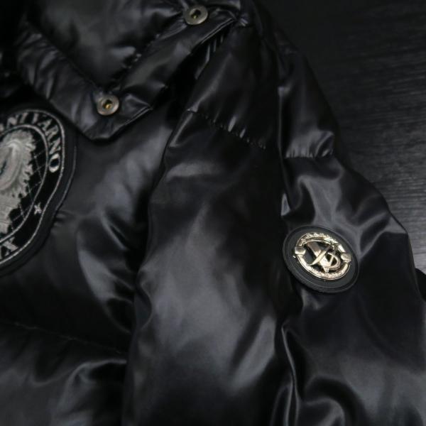 バーニヴァーノ ダウンジャケット 黒 Lサイズ BAW-HDB3007-09 BARNI VARNO 新作|wanwan|09