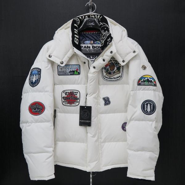 バーニヴァーノ ダウンジャケット 白 Lサイズ BAW-HDB3009-01 BARNI VARNO 新作|wanwan