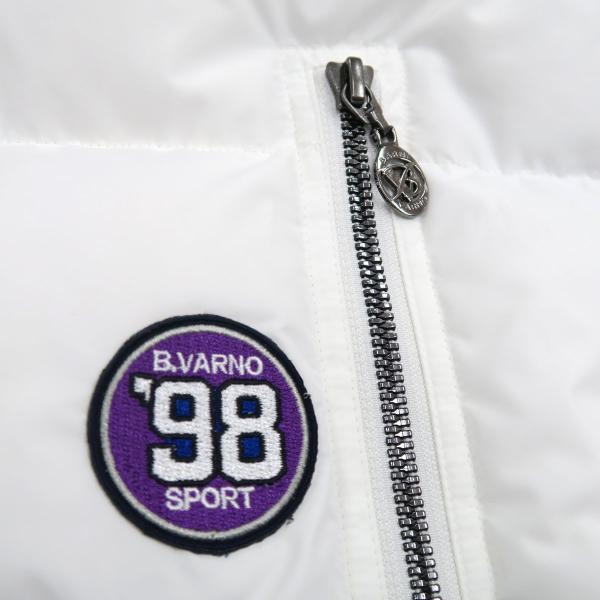 バーニヴァーノ ダウンジャケット 白 Lサイズ BAW-HDB3009-01 BARNI VARNO 新作|wanwan|06