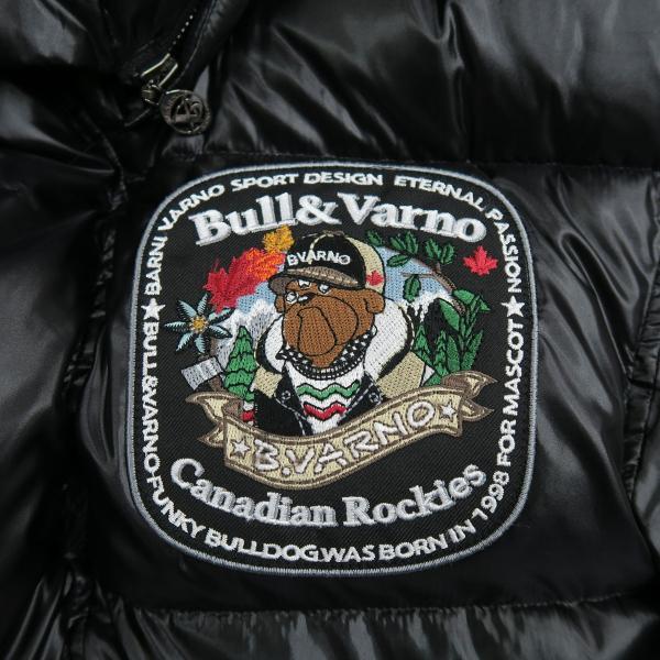 バーニヴァーノ ダウンジャケット 黒 Lサイズ BAW-HDB3009-09 BARNI VARNO 新作|wanwan|05