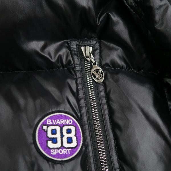 バーニヴァーノ ダウンジャケット 黒 Lサイズ BAW-HDB3009-09 BARNI VARNO 新作|wanwan|06