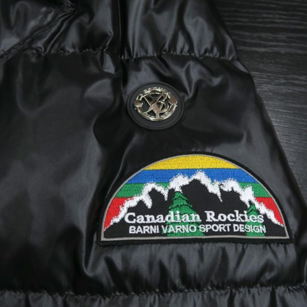 バーニヴァーノ ダウンジャケット 黒 Lサイズ BAW-HDB3009-09 BARNI VARNO 新作|wanwan|07