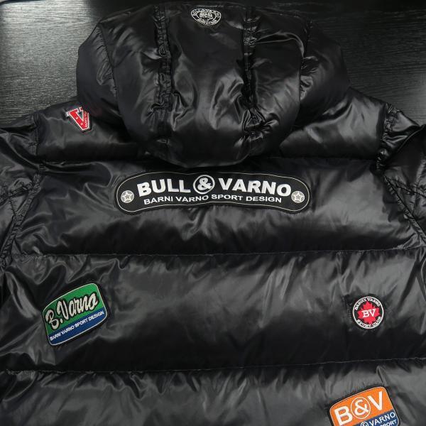 バーニヴァーノ ダウンジャケット 黒 Lサイズ BAW-HDB3009-09 BARNI VARNO 新作|wanwan|09