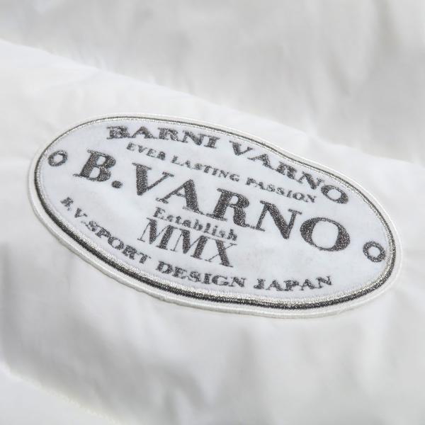バーニヴァーノ ダウンベスト 白 Lサイズ BAW-HDV3011-01 BARNI VARNO 新作|wanwan|11