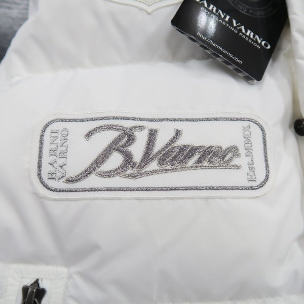 バーニヴァーノ ダウンベスト 白 Lサイズ BAW-HDV3011-01 BARNI VARNO 新作|wanwan|05