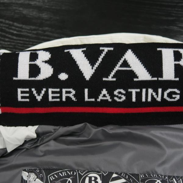 バーニヴァーノ ダウンベスト 白 Lサイズ BAW-HDV3011-01 BARNI VARNO 新作|wanwan|09