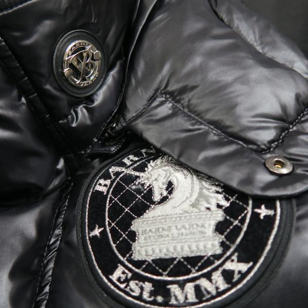 バーニヴァーノ ダウンベスト 黒 M/Lサイズ BAW-HDV3011-09 BARNI VARNO 新作|wanwan|04