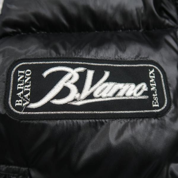 バーニヴァーノ ダウンベスト 黒 M/Lサイズ BAW-HDV3011-09 BARNI VARNO 新作|wanwan|07