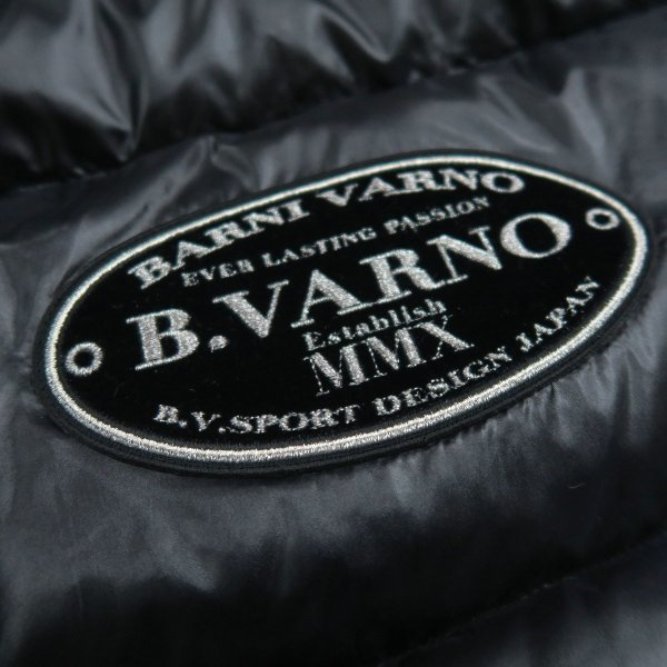 バーニヴァーノ ダウンベスト 黒 M/Lサイズ BAW-HDV3011-09 BARNI VARNO 新作|wanwan|09