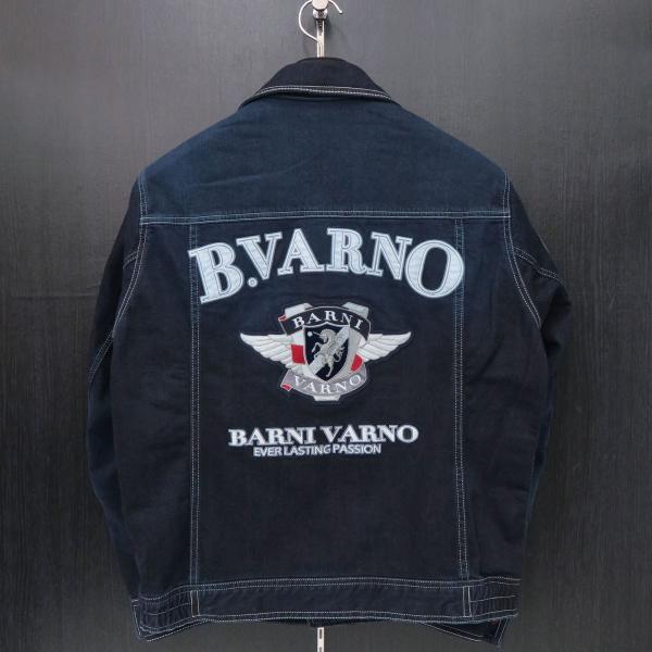 バーニヴァーノ Gジャン インディゴ Lサイズ BAW-HJB3036-67 BARNI VARNO|wanwan|02