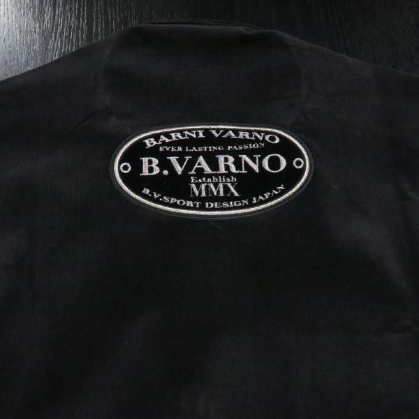 バーニヴァーノ 細コールボタンダウンシャツ 黒 Lサイズ BAW-HSN3060-09 BARNI VARNO|wanwan|10