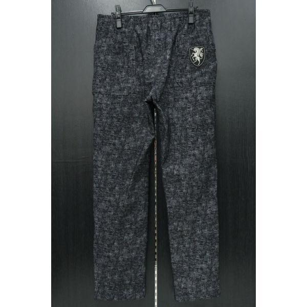 バーニヴァーノ カジュアルパンツ 黒/白 M-Lサイズ BAW-HSP3068-07 BARNI VARNO|wanwan|02