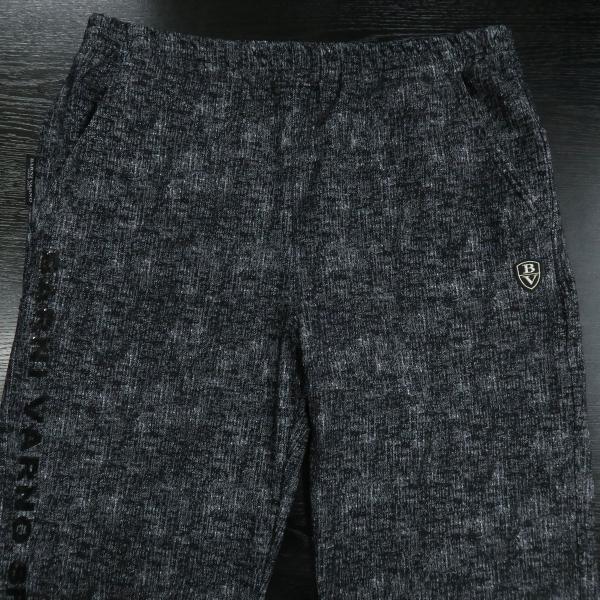 バーニヴァーノ カジュアルパンツ 黒/白 M-Lサイズ BAW-HSP3068-07 BARNI VARNO|wanwan|03