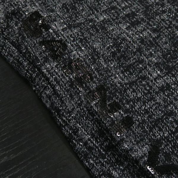 バーニヴァーノ カジュアルパンツ 黒/白 M-Lサイズ BAW-HSP3068-07 BARNI VARNO|wanwan|04