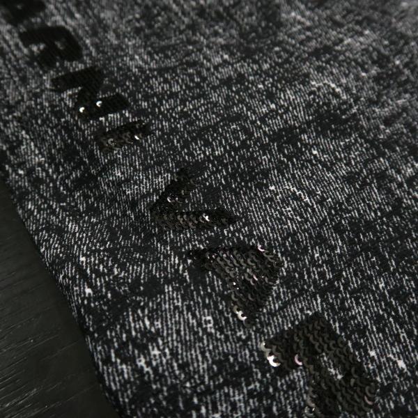 バーニヴァーノ カジュアルパンツ 黒/白 M-Lサイズ BAW-HSP3068-07 BARNI VARNO|wanwan|05