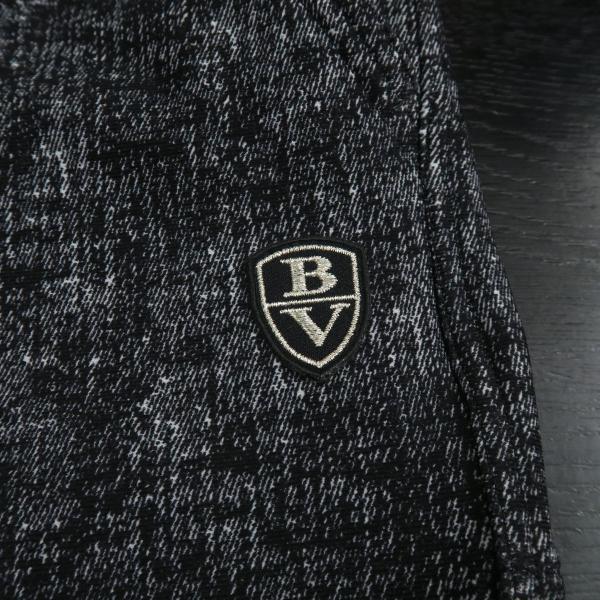 バーニヴァーノ カジュアルパンツ 黒/白 M-Lサイズ BAW-HSP3068-07 BARNI VARNO|wanwan|06