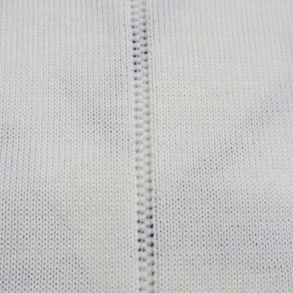 バーニヴァーノ 長袖丸首セーター 白黒 LLサイズ BAW-HSW3013-01 BARNI VARNO wanwan 07