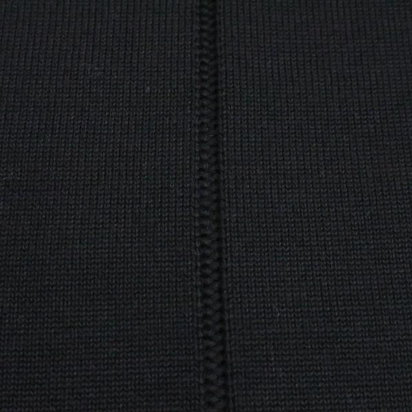バーニヴァーノ 長袖丸首セーター 黒白 LLサイズ BAW-HSW3013-09 BARNI VARNO|wanwan|08