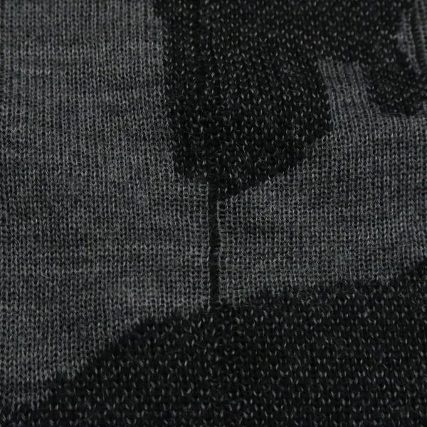 バーニヴァーノ 長袖丸首セーター 黒グレー LLサイズ BAW-HSW3015-09 BARNI VARNO|wanwan|06