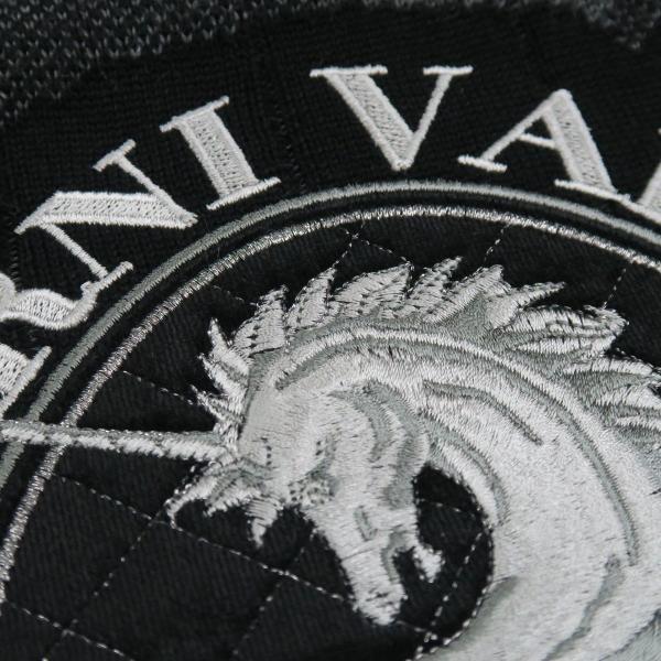 バーニヴァーノ 長袖丸首セーター 黒グレー LLサイズ BAW-HSW3015-09 BARNI VARNO|wanwan|07