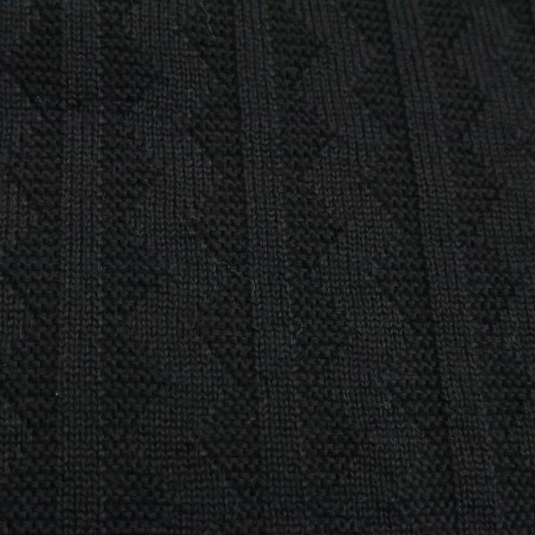 バーニヴァーノ ブルドッグハーフジップセーター グレー黒 Lサイズ BAW-HSW3025-09 BARNI VARNO|wanwan|10