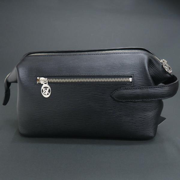 バーニヴァーノ 牛革セカンドバッグ 黒 BSS-EGB1707-09 BARNI VARNO クロコ型押し クラッチバッグ|wanwan|02