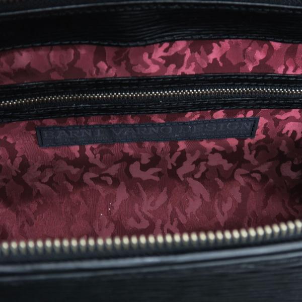 バーニヴァーノ 牛革セカンドバッグ 黒 BSS-EGB1707-09 BARNI VARNO クロコ型押し クラッチバッグ|wanwan|06
