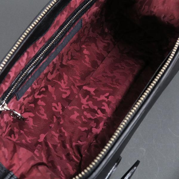 バーニヴァーノ ユニコーン型押し水シボ牛革セカンドバッグ 黒 BSS-HGB2894-90 BARNI VARNO クラッチバッグ wanwan 07