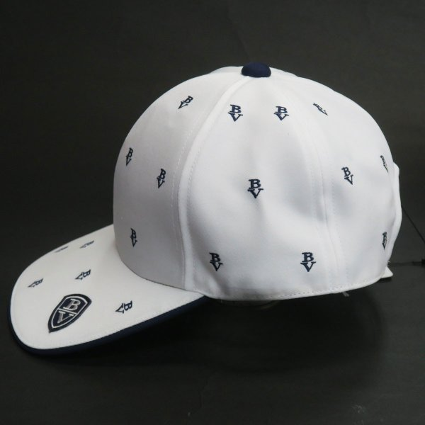 SALE30%OFF バーニヴァーノ 帽子(キャップ) 白 BSS-GCA2512-01 BARNI VARNO|wanwan|03
