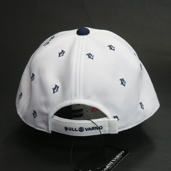 SALE30%OFF バーニヴァーノ 帽子(キャップ) 白 BSS-GCA2512-01 BARNI VARNO|wanwan|04