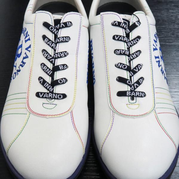 バーニヴァーノ スニーカー 白 BSS-GKS2520-02 BARNI VARNO 靴|wanwan|04