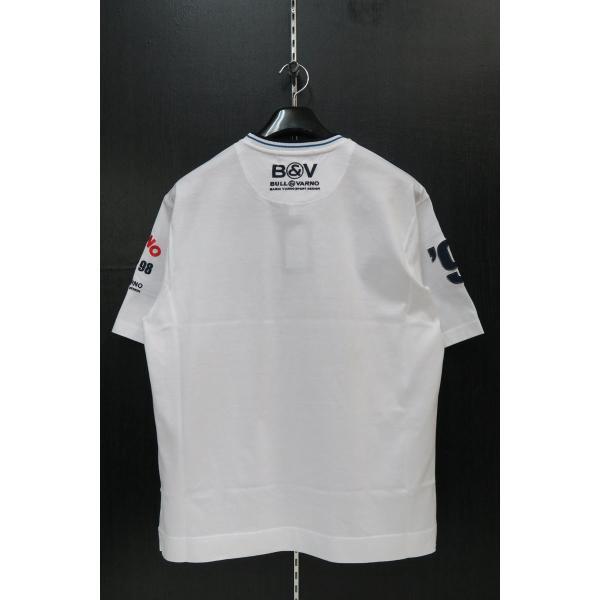 バーニヴァーノ 半袖Tシャツハーフパンツ上下セット 白 Lサイズ BSS-GTH2423-01 BARNI VARNO|wanwan|04