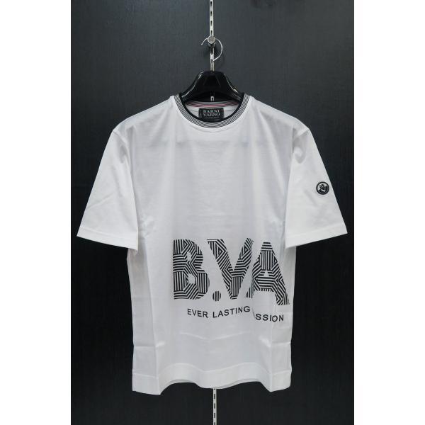 バーニヴァーノ 半袖Tシャツハーフパンツ上下セット 白 LLサイズ BSS-GTS2455-01 BARNI VARNO|wanwan|02