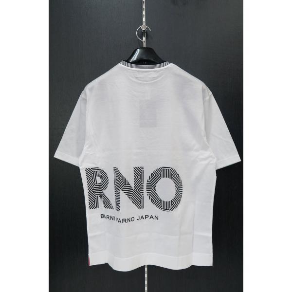 バーニヴァーノ 半袖Tシャツハーフパンツ上下セット 白 LLサイズ BSS-GTS2455-01 BARNI VARNO|wanwan|04