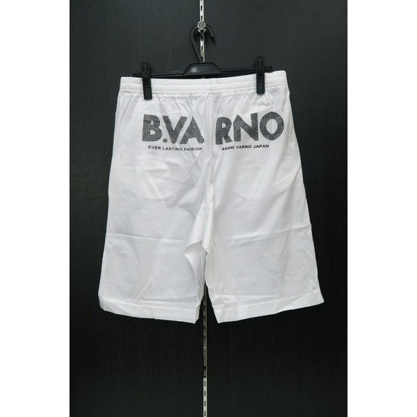 バーニヴァーノ 半袖Tシャツハーフパンツ上下セット 白 LLサイズ BSS-GTS2455-01 BARNI VARNO|wanwan|05