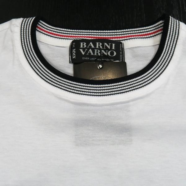 バーニヴァーノ 半袖Tシャツハーフパンツ上下セット 白 LLサイズ BSS-GTS2455-01 BARNI VARNO|wanwan|06