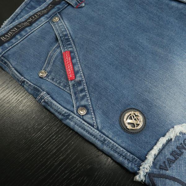 バーニヴァーノ 5ポケットジーンズ 薄いインディゴブルー 82-100cm BSS-HJZ2880-63 BARNI VARNO|wanwan|05
