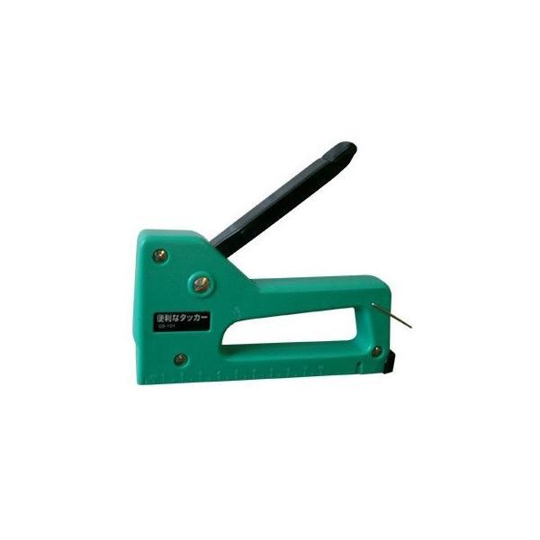820453 DIY 便利 タッカー | ガンタッカー パワー タッカー ステープラ ホッチキス R型 ステープル 400本 布 紙 網 ホチキス 2WAY