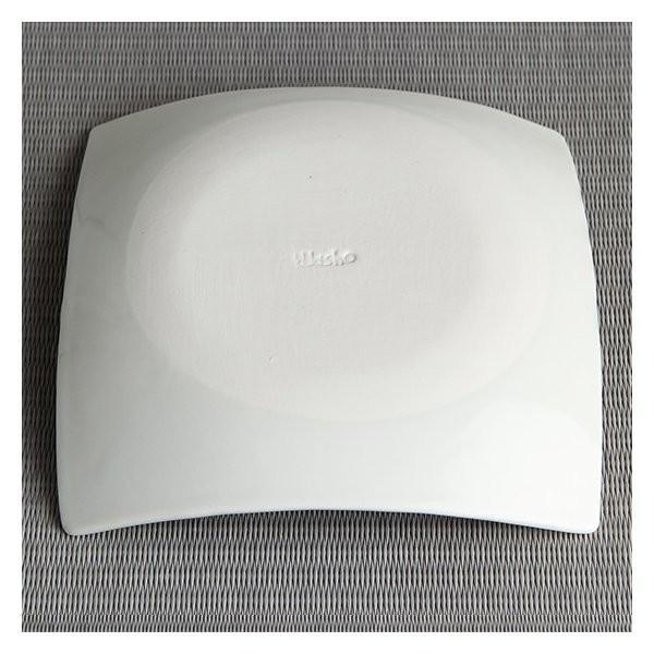 砥部焼 おしゃれ 【スクエアディッシュ M】 お皿 角皿 盛皿 取皿 窯元 和将窯 Washo-003|wapal|05