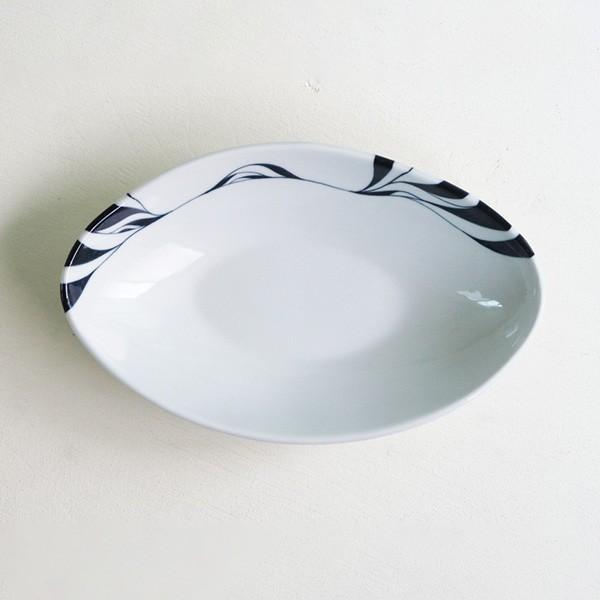 砥部焼 おしゃれ 【カリーディッシュ】 カレー皿 串皿 お皿 盛皿 窯元 和将窯 Washo-015|wapal|04