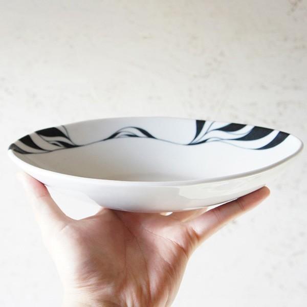 砥部焼 おしゃれ 【カリーディッシュ】 カレー皿 串皿 お皿 盛皿 窯元 和将窯 Washo-015|wapal|06