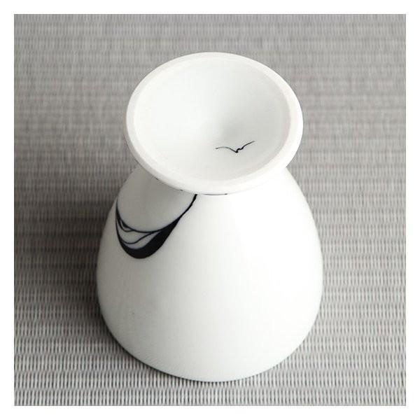 砥部焼 おしゃれ 【ワインカップ】 カクテルグラス フリーカップ モダン 白黒 窯元 和将窯 Washo-107|wapal|05