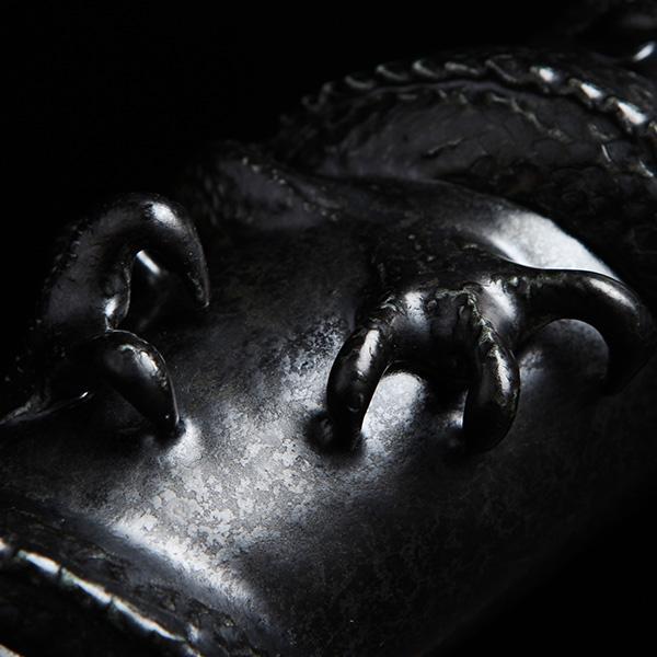 ドラゴン 万華鏡  オイルワンド万華鏡 Washo 901 砥部焼 おしゃれ 窯元 和将窯 モダン 白黒|wapal|06
