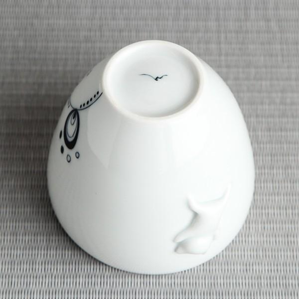 猫のカップ 砥部焼 おしゃれ 【猫のかくれんぼ】 フリーカップ 受賞作品 窯元 和将窯 Washo-w4|wapal|05
