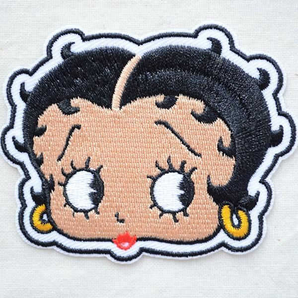ワッペン ベティブープ Betty Boop(フェイス) BBW-001|wappenstore