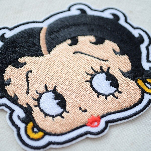 ワッペン ベティブープ Betty Boop(フェイス) BBW-001|wappenstore|02