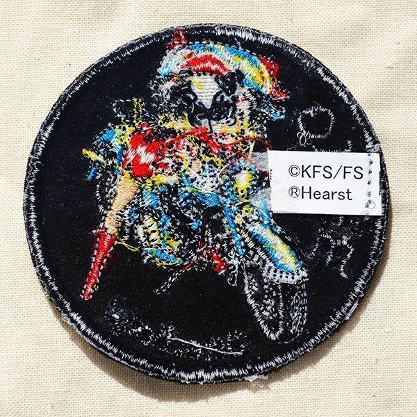 ワッペン ベティブープ Betty Boop(バイク) 名前 作り方 BBW-012|wappenstore|03