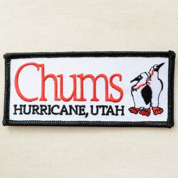 ロゴワッペン Chums チャムス(ブービー/レクタングル) CH62-0033|wappenstore