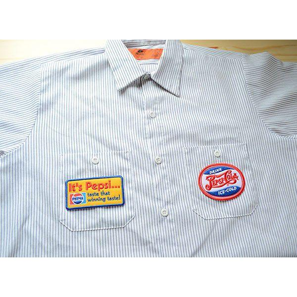 ワッペン ペプシコーラ Pepsi-Cola('70sロゴ/イエロー) HCH-001A|wappenstore|04