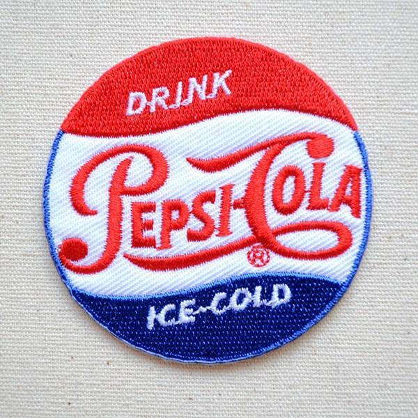 ワッペン ペプシコーラ Pepsi-Cola 名前 作り方 LEO-001|wappenstore